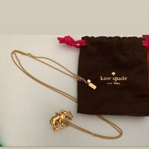 Kate Spade Elephant Pendant Necklace